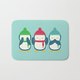 No Evil In Holiday Bath Mat