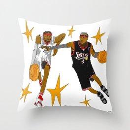 ALLEN IVERSON  Throw Pillow