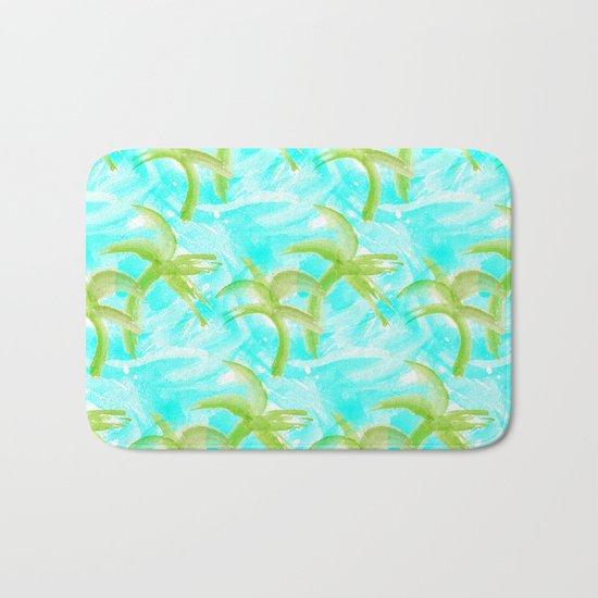 Tropical Abstract_Oceans Bath Mat