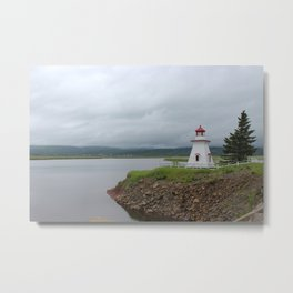 Moody skies in the maritimes Metal Print