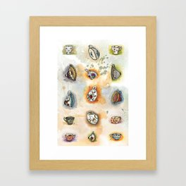 Tittie Tea Cups Framed Art Print