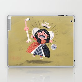 Queen of Hearts - Alice in Wonderland Laptop & iPad Skin