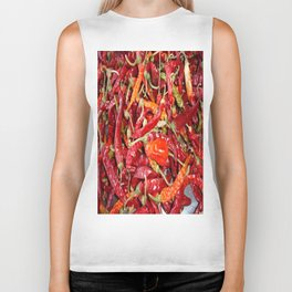 Sundried Chili Peppers Biker Tank