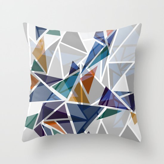 Cracked II Throw Pillow
