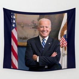 official portrait of Joe Biden Wall Tapestry