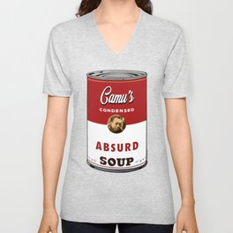 Camus Soup Unisex V-Neck