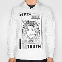 scandal Hoodies featuring Courtney Scandal by CLSNYC