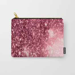Pink Sparkle Galaxy Africa Carry-All Pouch