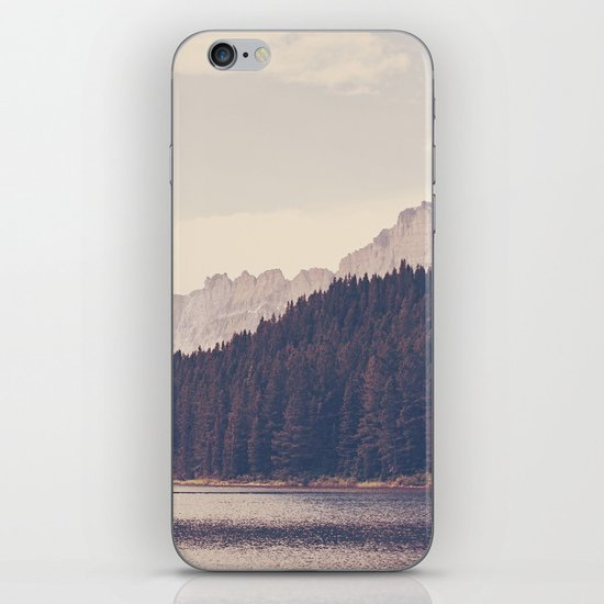 Morning Mountain Lake iPhone Skin