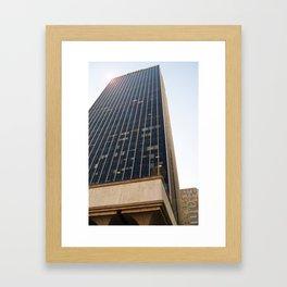 City Tower Framed Art Print