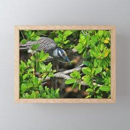 Do Not Come Find Me Framed Mini Art Print