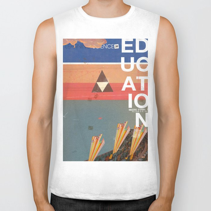 Education - prepare for your mind to be blown Biker Tank