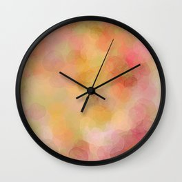 Colour Blur Wall Clock