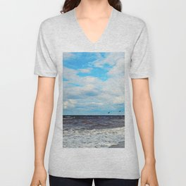 Flying Cormorants Unisex V-Neck
