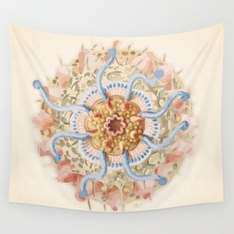 Ernst Haeckel Revisited Wall Tapestry