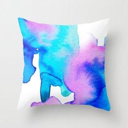 Watercolor 01 Throw Pillow