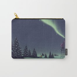 Winter Painting Carry-All Pouch
