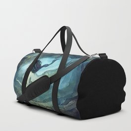 mermaid treasure Duffle Bag