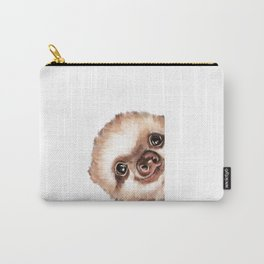 Sneaky Baby Sloth Carry-All Pouch