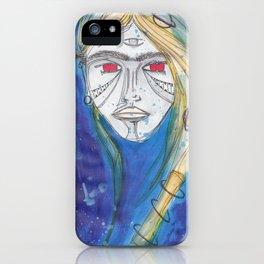 AQUA B GIRL iPhone Case
