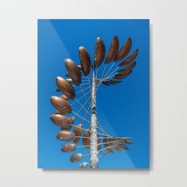 Wind Spinner Metal Print
