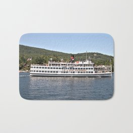 Lac du Saint Sacrement Steamboat Bath Mat