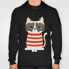 Grumpy meme cat  Hoody