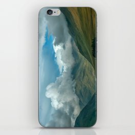 Cloudy afternoon in Connamara iPhone Skin