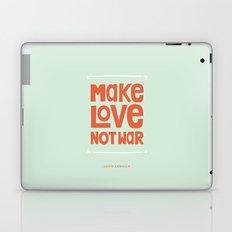 Make Love, Not War Laptop & iPad Skin