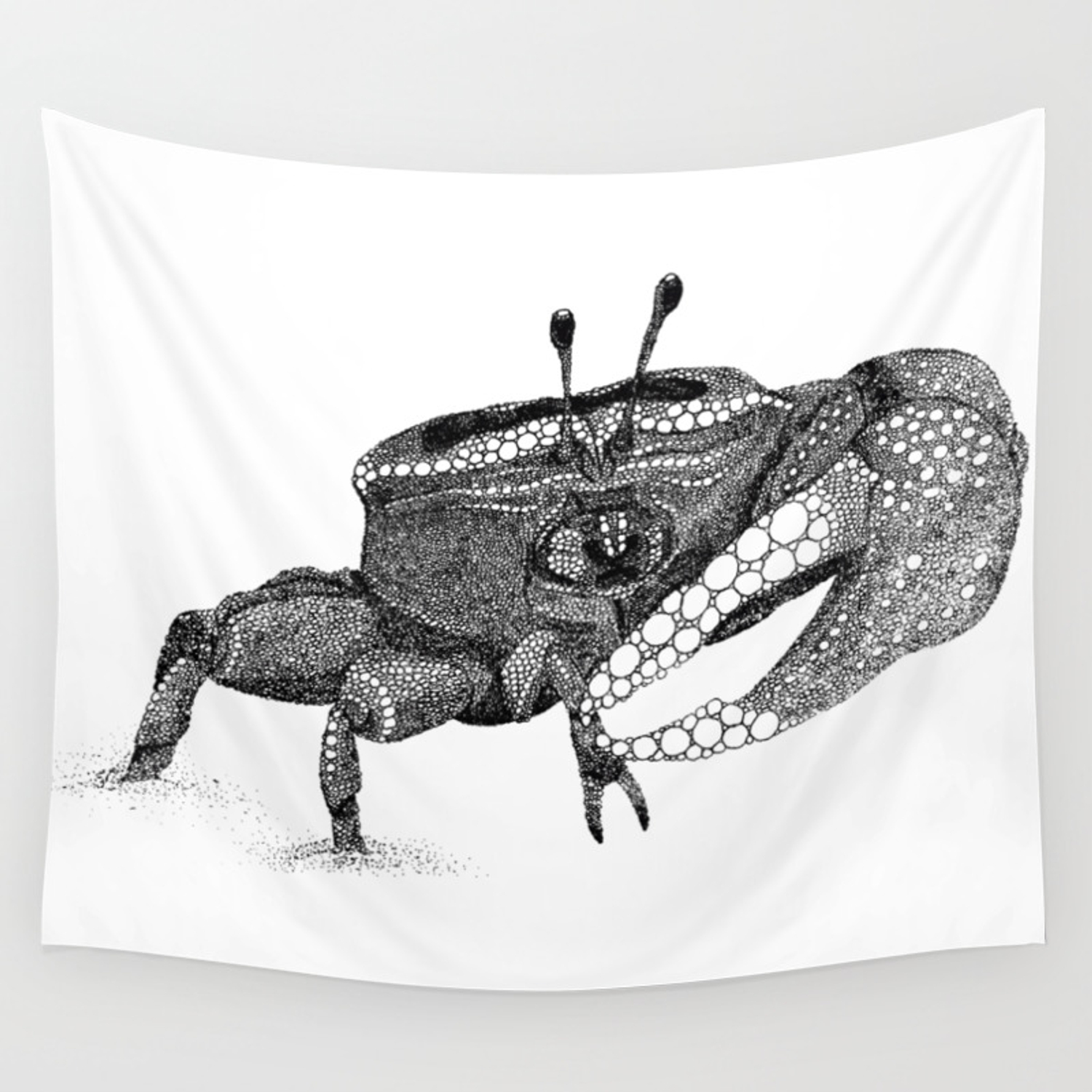 The Fiddler Crab Wall Tapestry By Naturalink Society6