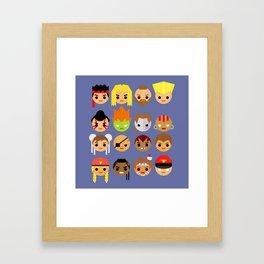 Street Fighter 2 Turbo Mini Framed Art Print