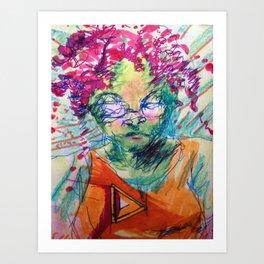 Ms.TitaniumAlloy Art Print