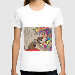 """""""Fall in Lust"""" Paulette Lust's Original, Contemporary, Whimsical, Colorful Art  T-shirt"""