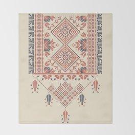 Palestina pattern Throw Blanket