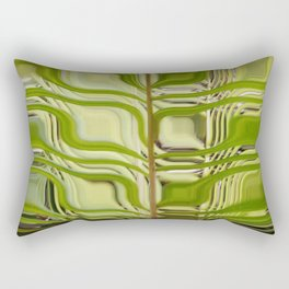 Abstract Germination Rectangular Pillow