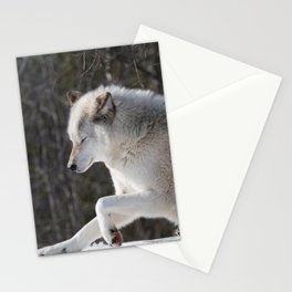 Wolf 3 Stationery Cards