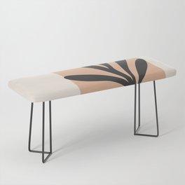 Minimal Abstract Art 11 Bench