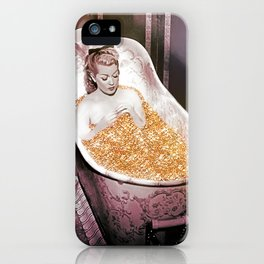 Bathing in Gold is Good For Your Soul iPhone Case