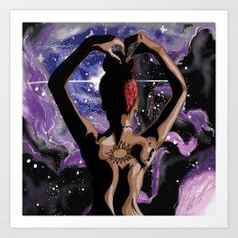 Caicos Nebula Art Print