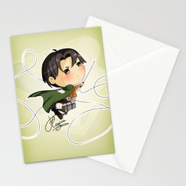 Rivaille Hei-chibi-chou Stationery Cards