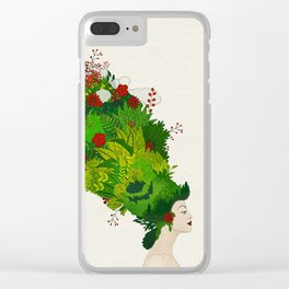 Rococo: The Gardener Clear iPhone Case