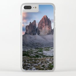 Tre cime di Lavaredo Clear iPhone Case