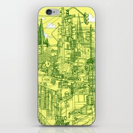 San Francisco! (Yellow) iPhone Skin