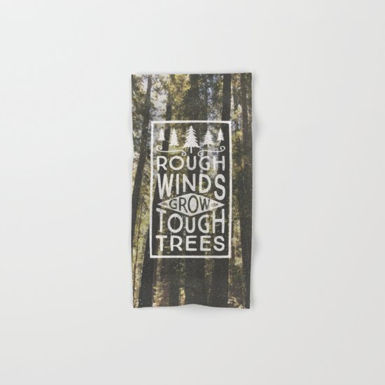 TOUGH TREES Hand & Bath Towel