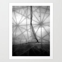 Tarp and Triangles Art Print
