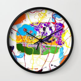 Garden Joy        by   Kay Lipton Wall Clock