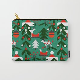 Christmas evergreens Carry-All Pouch