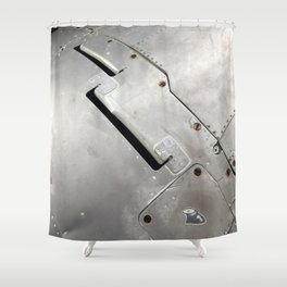 Coin Slot. Fashion Textures Shower Curtain