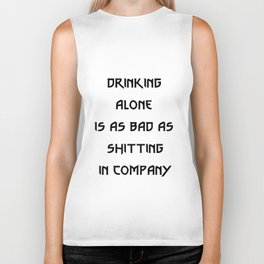 The Witcher quote Biker Tank