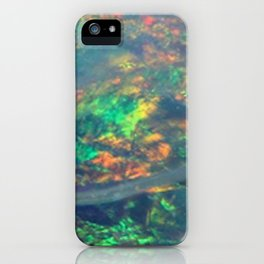 Fire Opal iPhone Case